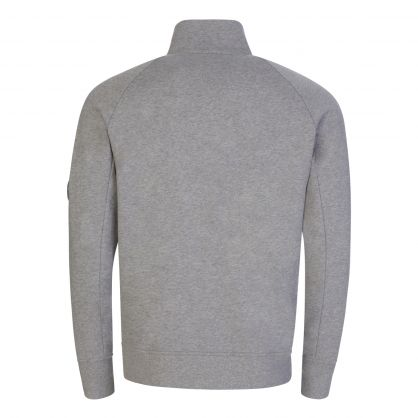 Grey Fleece Utility Sweatshirt