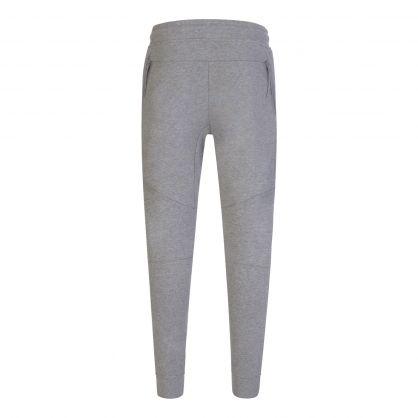 Grey Raised Fleece Utility Sweatpants
