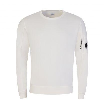 White Light Fleece Sweatshirt