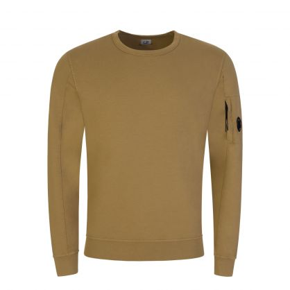 Brown Light Fleece Goggle Lens Sweatshirt