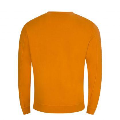 Orange Light Fleece Sweatshirt