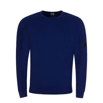 Blue Light Fleece Goggle Lens Sweatshirt