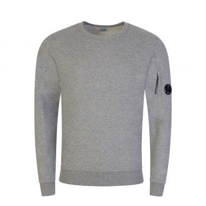 Grey Light Fleece Goggle Lens Sweatshirt