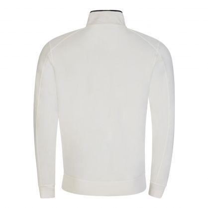 White Light Fleece 1/4 Zip Sweatshirt