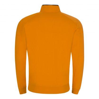 Orange Light Fleece 1/4 Zip Sweatshirt