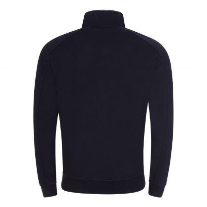 Navy Lightweight 1/4 Zip Sweatshirt