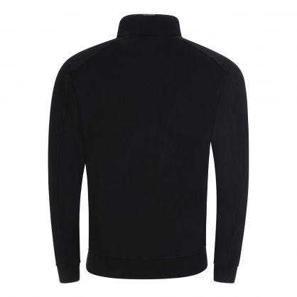 Black 1/4 Zip Lightweight Sweatshirt