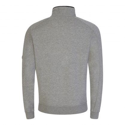 Grey Light Fleece 1/4 Zip Sweatshirt
