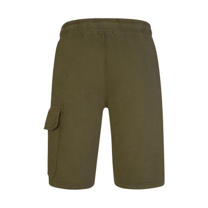 Green Lightweight Cargo Shorts