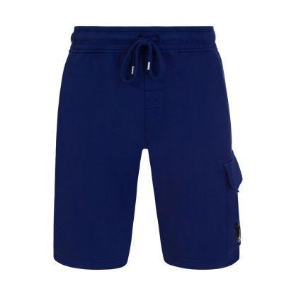 Blue Lightweight Cargo Shorts