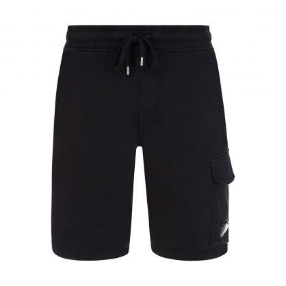 Black Lightweight Cargo Shorts