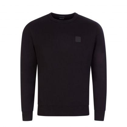 Black Metropolis Series Fleece Sweatshirt
