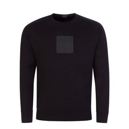 C.P Company Black Metropolois Series Fleece Sweatshirt