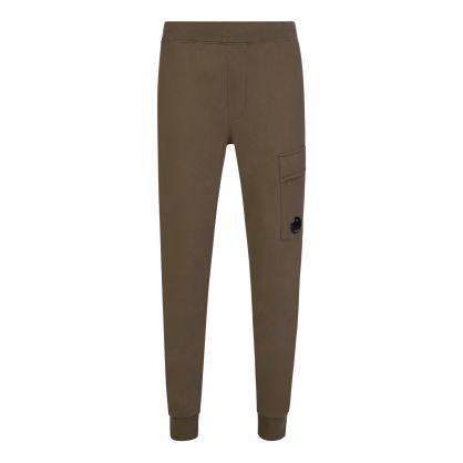 Green Fleece Sweatpants