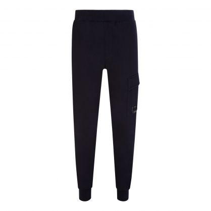 Navy Fleece Sweatpants