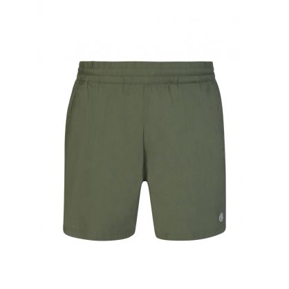 Green Mesh Glide Swim Shorts