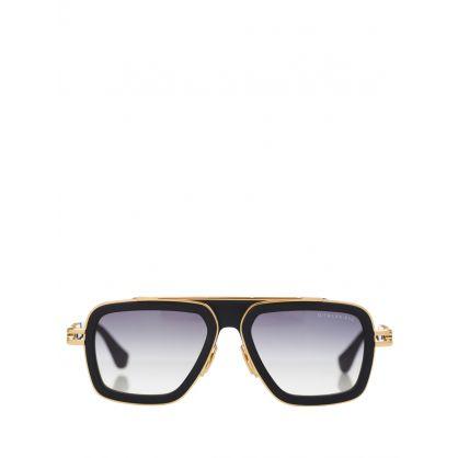 Gold LXN-EVO Sunglasses