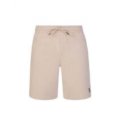 Beige Ehot Shorts