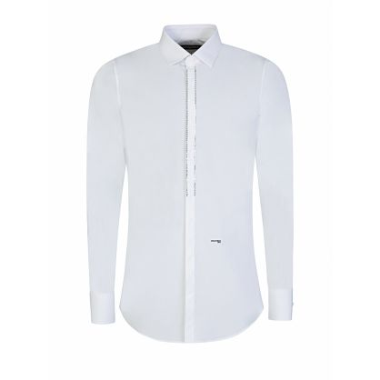 White Diamante Shirt