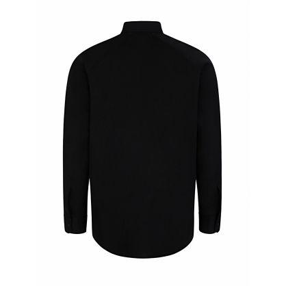Black Logo Tape Shirt