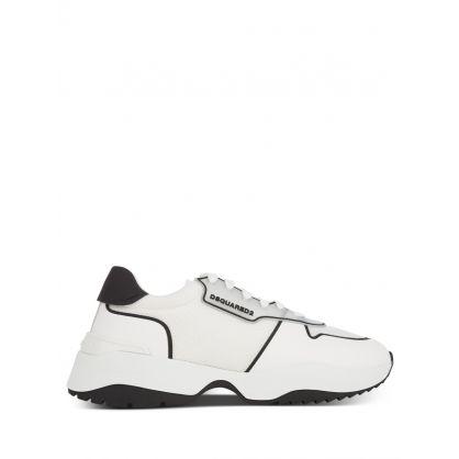 White/Black D24 Tecno Trainers