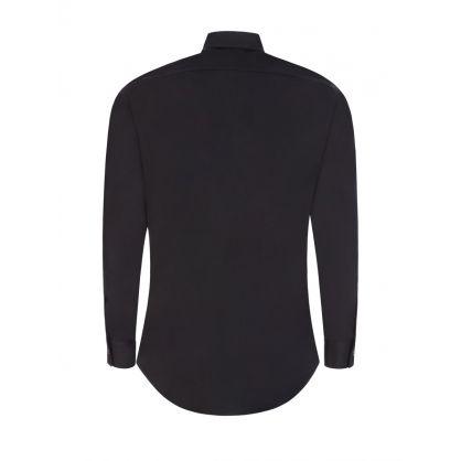 Black Double Zip Dan Shirt