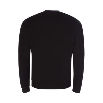 Black Metal Leaf Sweatshirt