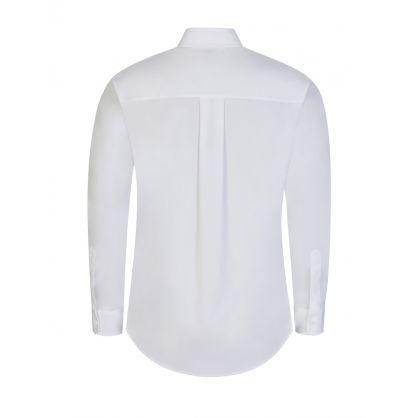 White EST.95 Poplin Shirt