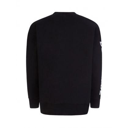 Black D2 Maple Leaf Sweatshirt