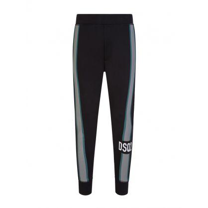 Black Side Stripe Sweatpants