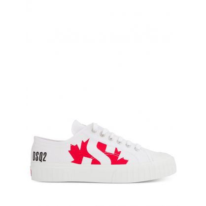 White Low-Top Trainers