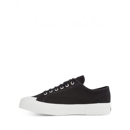 Black Low-Top Trainers