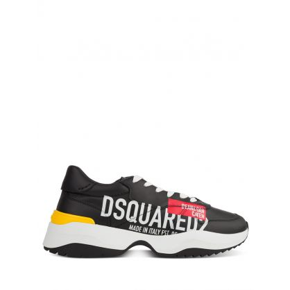 Black D24 Red Tag Trainers