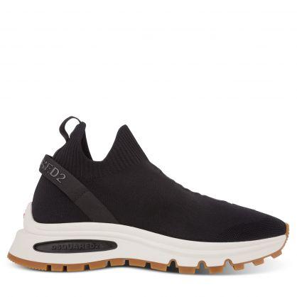 Black RunDS2 Sock Trainers