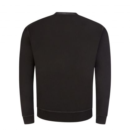 Black Macro Cool Logo Sweatshirt