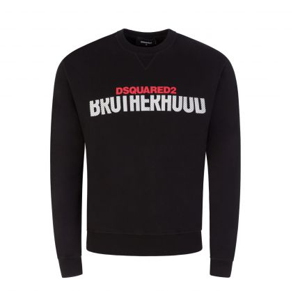 Black 'Brotherhood' Sweatshirt