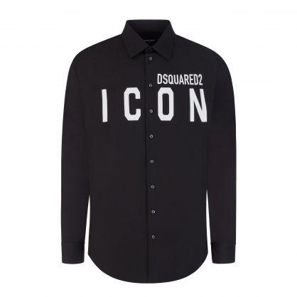 Black ICON Sports Shirt