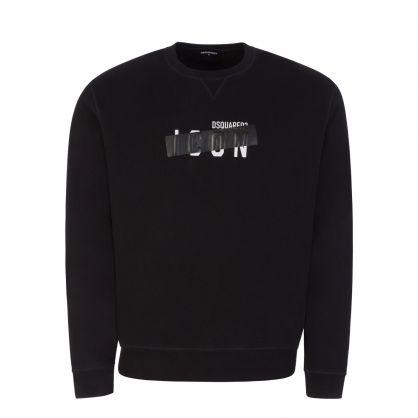 Black Taped ICON Sweatshirt