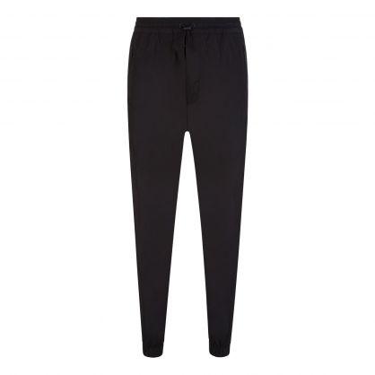 Black Cargo Sweatpants