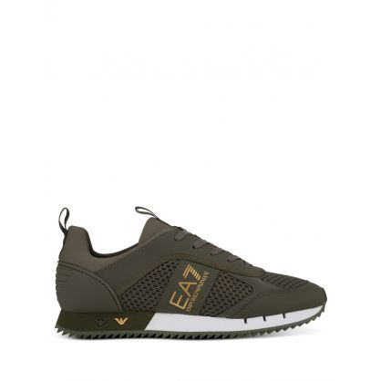Green Mesh Runner Trainers