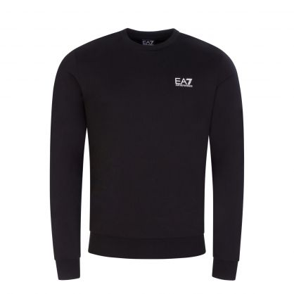 Black Small Logo Sweatshirt
