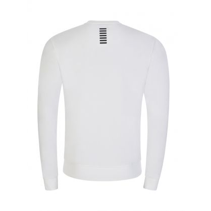 White Small Logo Sweatshirt