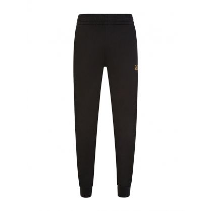Black Small Logo Sweatpants