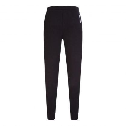 Emporio Armani Black Small Logo Cuff Sweatpants