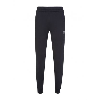Navy Small Logo Sweatpants