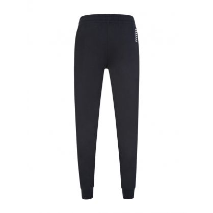 EA7 Navy Small Logo Sweatpants