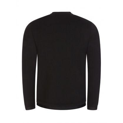 Black Classic Logo Sweatshirt