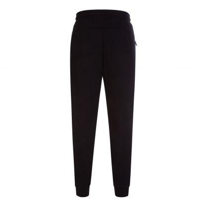 Black Athletic Colour Block Sweatpants