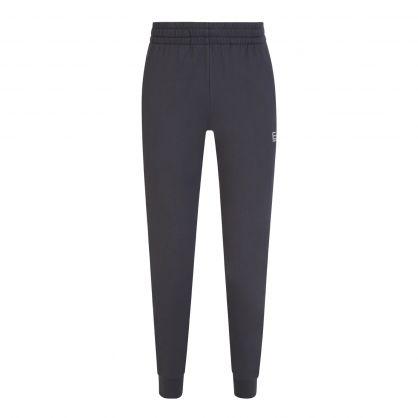 Grey Cotton Logo Sweatpants