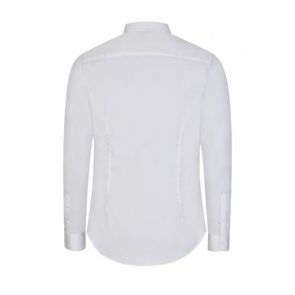 White Small Logo Shirt